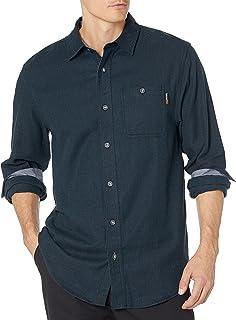 Timberland PRO 男式 Woodfort 中等重量法兰绒工作衬衫