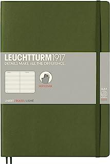 LEUCHTTURM1917 灯塔B5横格创作本军绿色软封皮(B5)