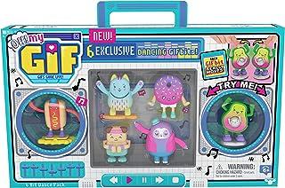 OH!MY GIF 6 BIT Pack 移动收藏品玩具,带 6 个*跳舞礼物,适合男孩和女孩使用