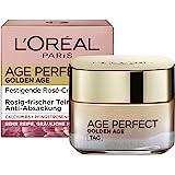 L'Oréal Paris 巴黎欧莱雅 金致臻颜系列 紧致光泽锁龄日霜 适合成熟和黄润的皮肤,含牡丹提取物, 50ml