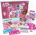L.O.L. Surprise! Horizon Group USA的 Stylin' 工作室,装饰有 250 多个配件的 LOL 惊喜纸娃娃,包括 DIY 活动书、划痕艺术、贴纸、着色页、马克笔、蜡笔等