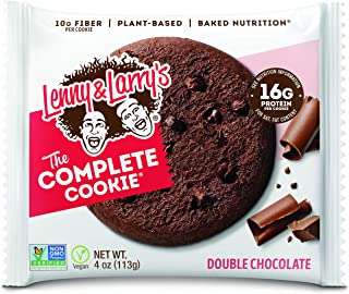 Lenny & Larry's The Complete 曲奇,花生酱巧克力片 Double Chocolate 12 包 12份