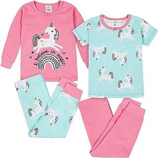 Gerber 女婴睡衣套装 4 件套