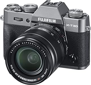 Fujifilm X-T30 with XF 18-55 lens - Charcoal Silver