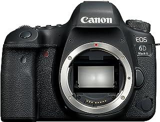 """Canon EOS 6d MK II - 26.2 MP 数码单反相机(沙屏 3.0、Wi-Fi、蓝牙、双像素 CMOS AF、45 AF 点、TIME-LAPSE 视频(4 K)"