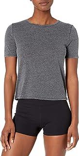 亚马逊品牌 - Core 10 女式三种混纺短款男友款 T 恤