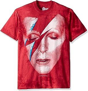 液态蓝色 David Bowie Aladdin Sane 短袖 T 恤