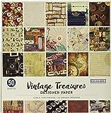 ColorBok 68117E 设计师纸垫复古宝藏,30.48 厘米 x 30.48 厘米 Vintage Treasu…