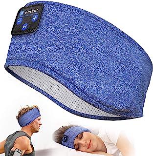 Perytong *耳机,蓝牙运动头带耳机带超薄高清立体声扬声器,非常适合睡觉、锻炼、慢跑、瑜伽、*、空中旅行、冥想