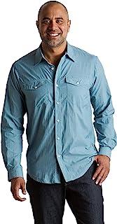 ExOfficio 男式 Syros 轻便长袖衬衫