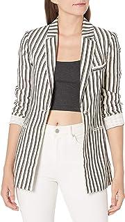 BCBGMAXAZRIA 女式条纹长袖外套