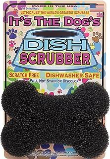JetzScrubz Pet Dish and Bowl Scrubber Sponge, Dog