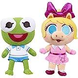 Disney Junior Music Lullabies 8 英寸Kermit & Piggy 毛绒套装