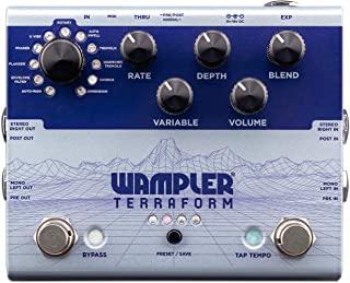 Wampler Terraform 多调制吉他效果踏板 (WAMTERRAFORM)