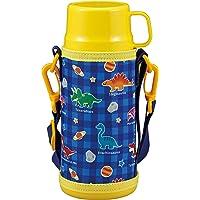 CAPTAIN STAG 水壶 水杯 直饮 杯套 双层不锈钢水杯 真空隔热 保温 保冷 两用 儿童水壶 600毫升 附带…