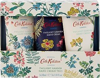 Cath Kidston Twilight Garden护手霜三件装,礼盒装旅行装(3 x 30ml)
