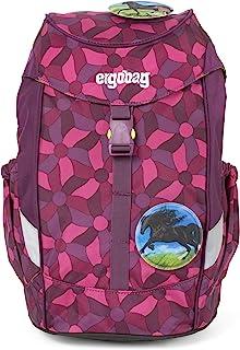 Ergobag 迷你,符合人体工程学的儿童背包,幼儿园,DIN A4,10升,500克 紫色花朵 10 L