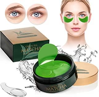 绿茶 MATCHA 紧致眼膜   *好的胶原蛋白贴片,细纹,皱纹   眼袋下和浮肿眼部护理   面部*凝胶垫   面部黑眼圈和*,松皮肤护理