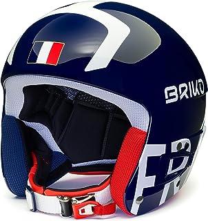 Briko (ZIOIO) Vulcano FIS 6.8 - 法国,中性头盔,成人,闪亮的蓝白色,62