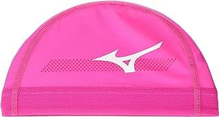 Mizuno 美津浓 泳帽 游泳帽 竞技网眼 20年秋冬款 男女通用 网眼帽 N2JW0507 粉色 尺寸:L