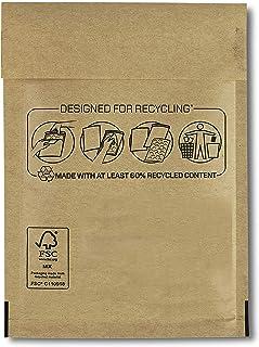 10 个加垫气泡袋信封 110 x 160 毫米 (Nº11) 用于运输保护