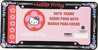 Hello Kitty 闪光车牌架(塑料材质)