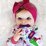 Nuby 舒缓出牙手套,带卫生旅行袋,恐龙,紫色