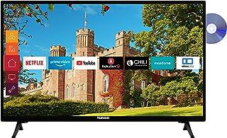 Telefunken XF32J519D 32 英寸电视(智能电视包括Prime Video / Netflix / YouTube,全高清,DVD 播放器,蓝牙,配合Alexa,三调谐器)[202020]