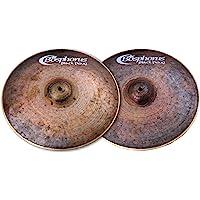 Bosphorus Cymbals BP15H 15 英寸黑色珍珠系列高帽半球形镲片一对