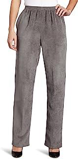 Alfred Dunner 女式小码经典常规(中号)长绳长裤