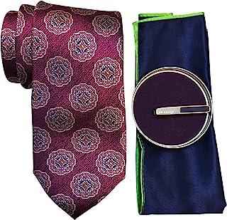 Ted Baker 泰德贝克 男式礼品套装 领带 方形口袋 半宝石领带