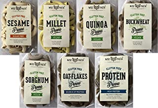 Wise Pasta Gluten-Free Start Package (sesame, millet, quinoa, buckwheat, sorghum, oatmeal, protein), 75g - 7 count WPMI75E...
