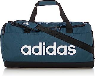 adidas 阿迪达斯 Linear Duffel M 运动包,成人,男女通用,AZMATR /黑色/白色(多色),均码