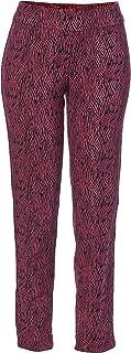 SLIM-SATION 女式双面套穿印花及踝裤