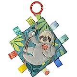 Taggies舒缓感官褶皱我玩具带婴儿纸张和吱吱声,6.5 X 6.5,Molasses Sloth