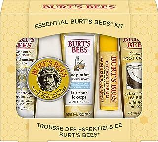 Burt's Bees 礼品装护肤品5件套,携行大小 - 含深层清洁霜,护手霜,润肤露,护足霜和润唇膏