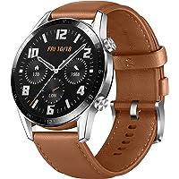 Huawei 华为 Watch GT 2 智能手表(46mm OLED全彩,SpO2监视,心率测量,音乐播放,蓝牙通话…