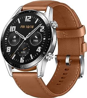 Huawei 华为 Watch GT 2 智能手表(46mm OLED全彩,SpO2监视,心率测量,音乐播放,蓝牙通话,5ATM防水,GPS),卵石棕