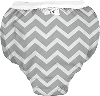 Kushies 婴儿防水训练裤(30-33 磅),灰色,M 码