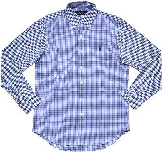 Ralph Lauren 保羅拉夫勞倫男式梭織斜紋布紐扣