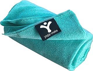 YOGA MATE 完美 yoga towel–超级柔软,可吸水,防滑 bikram HOT yoga 毛巾   完美尺码适用于 MAT–适用于 HOT yoga ,普拉提,体育,以及更多 100% 满意*!