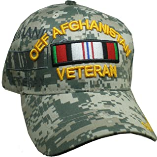 Cultural Exchange OEF 阿富汗退伍军人丝带阴影男式帽