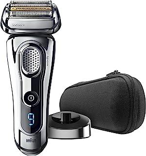 BRAUN 博朗 系列9 9293s 男士电动剃须刀,带精密修剪器,可充电,干湿两用,旅行箱