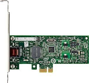 英特尔千兆 PRO/1000 CT 1000Mbit/s 网络卡 - 网络卡(有线,PCI-E,1000 Mbit/s,10/100/1000 Mbit/s,英特尔 82574L,1.9 W)