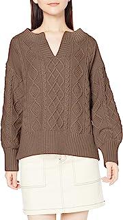 NATURAL BEAUTY BASIC 毛衣 女士 摩卡棕色 M