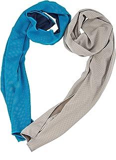 Azusa 清凉毛巾,清凉毛巾,瞬间缓解凉,冰凉围巾,适合男士和女士,40x12,超细纤维头巾,蒸发性凉毛巾,适合瑜伽高尔夫旅行
