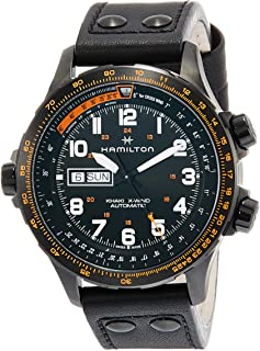 [HAMILTON]HAMILTON 手表 卡其色 X-Wind日期机械式自动上弦 H77785733 男士 【正规进口商品】