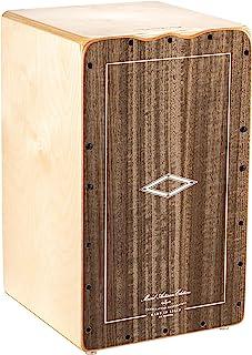 Meinl Percussion Artisan Edition Cajon 带内部弦,用于蜗牛效果,波罗的海桦木/灰色桉树 - 西班牙制造 - 探戈线,2 年保修(AETLGE)