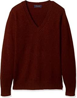 Cu-pop 毛80% 保暖V领针织毛衣(学校·制服) TB-1931 女孩