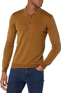 Billy Reid 男式细规毛衣 Polo 衫